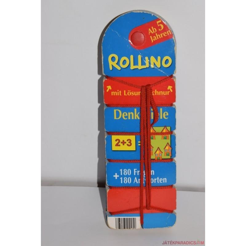 Akciós Rollino fonalas készségfejlesztő párosító játék
