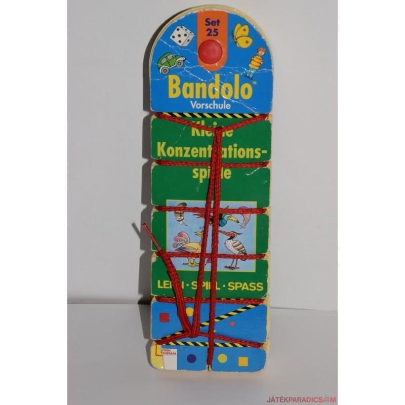 Akciós Bandolo készségfejlesztő fonalas párosító játék Set 33