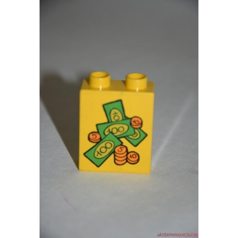 Lego Duplo pénz képes elem