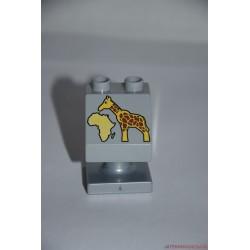 Lego Duplo zsiráfos tábla