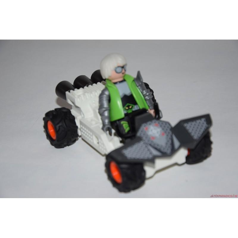 Playmobil titkosügynök sportkocsiban