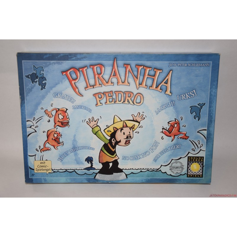 Piranha Pedro társasjáték