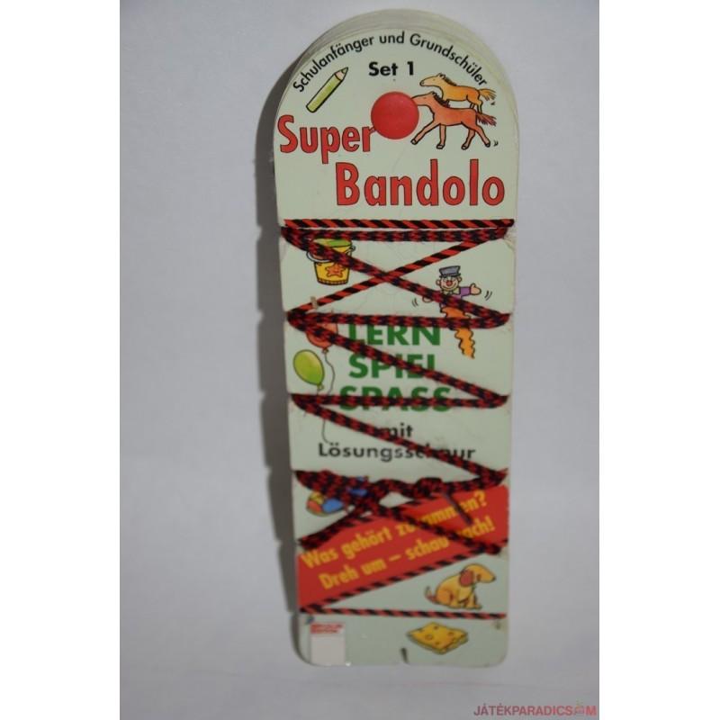 Super Bandolo készségfejlesztő párosító játék Set 1