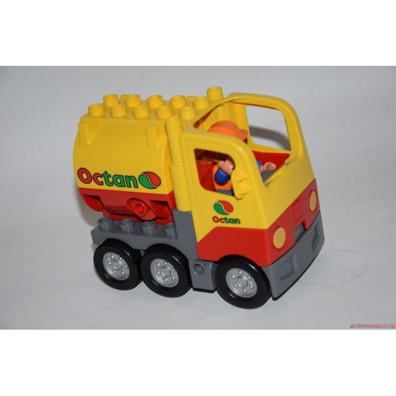Lego Duplo teherautó munkással