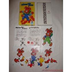 Nyuszis puzzle kirakós játék