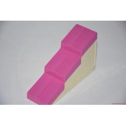 Lego Duplo rózsaszín háztető elem