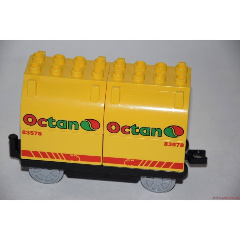 Lego Duplo octan vagon, vasúti kocsi