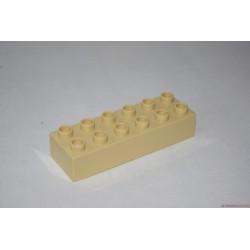 Lego Duplo drapp 6-os hosszú elem