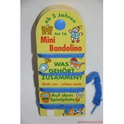 Mini Bandolino fonalas párosító játék Set 16 Játszótéren