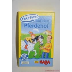 HABA 4543 Ratz Fatz Auf den Pferdehof Ratz Fatz a Lovardában társasjáték