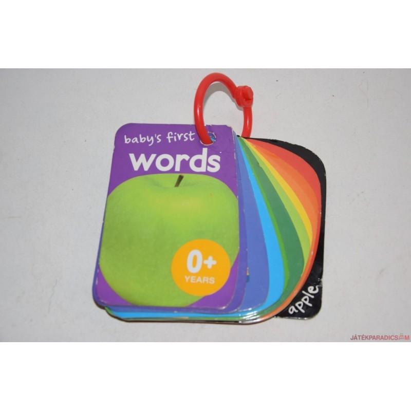 Baby's first Words angol szavak képeskönyv