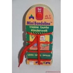 Mini Bandolino fonalas párosító játék Kis világom Set 52