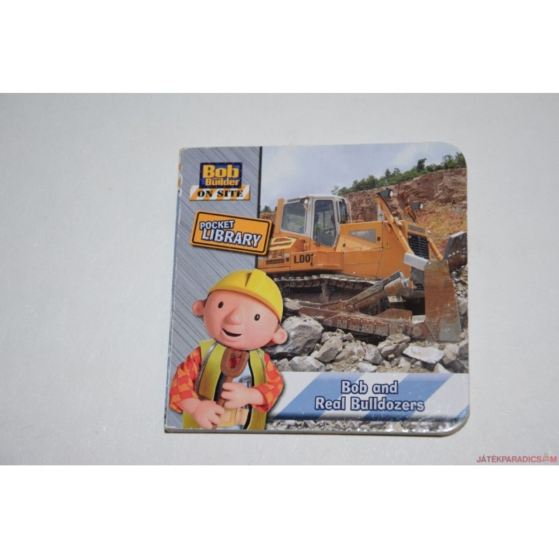 Kis Bob The Builder képeskönyv