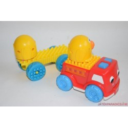 Fisher-Price tüsi autó madarakkal