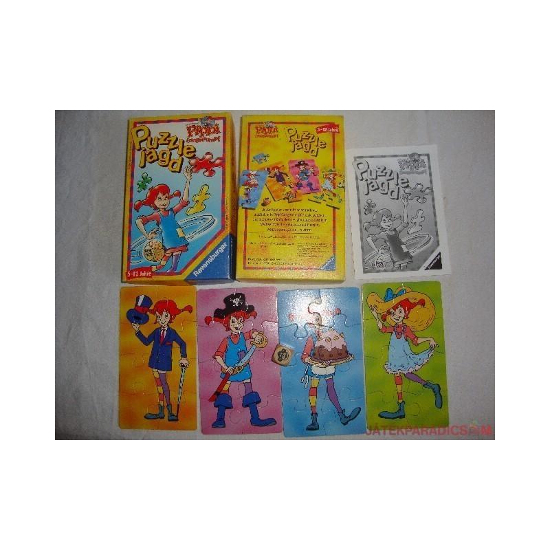 Pippi számolós puzzle kirakó játék