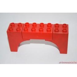 Lego Duplo íves piros elem