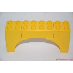 Lego Duplo íves sárga elem