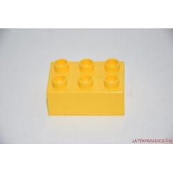 Lego Duplo 3x2 sárga elem