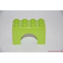 Lego Duplo íves zöld elem