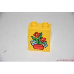 Lego Duplo virág képes elem