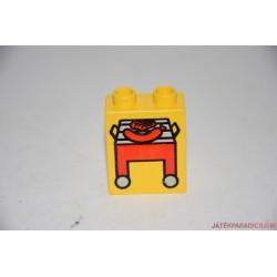 Lego Duplo SÜTŐ képes elem