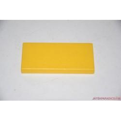 Lego Duplo sárga kis lapos elem