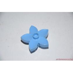 Lego Duplo világoskék virág