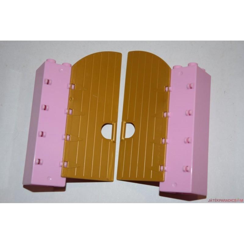 Lego Duplo rózsaszín kapu elem