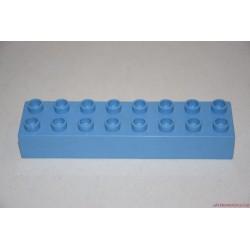 Lego Duplo világoskék  8-as hosszú elem