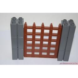 Lego Duplo rácsos várkapu