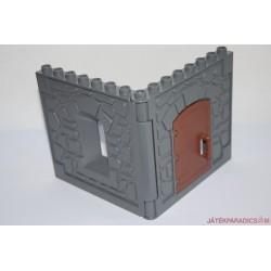 Lego Duplo várfal ablakkal és ajtóval