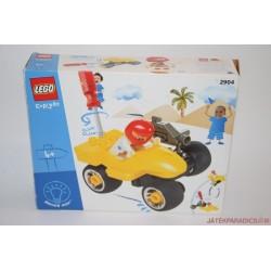 Lego Duplo 2904 autós Toolo szerelő versenyautó dobozos készlet