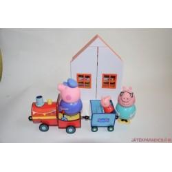 Peppa Pig kinyitható házikó készlet 3