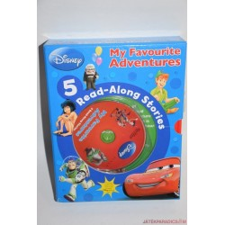 My Favorite Adventures 5 Read - Along Stories könyvecske cd-vel