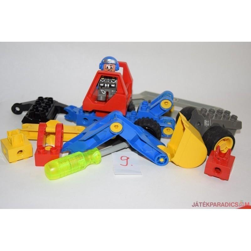 Lego Duplo autós Toolo szerelő készlet 9