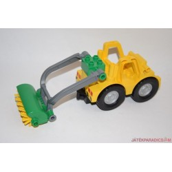 Lego Duplo boronás sárga traktor