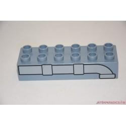 Lego Duplo szürke cső képes hosszú elem