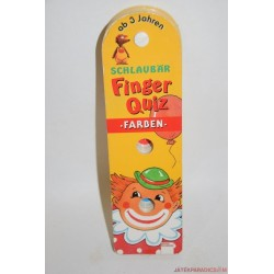 Finger Quiz ujjal játszható képes játék - Színek