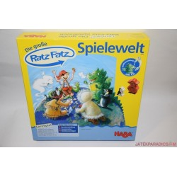 HABA 4540 Das Grosse Ratz Fatz Spielewelt társasjáték