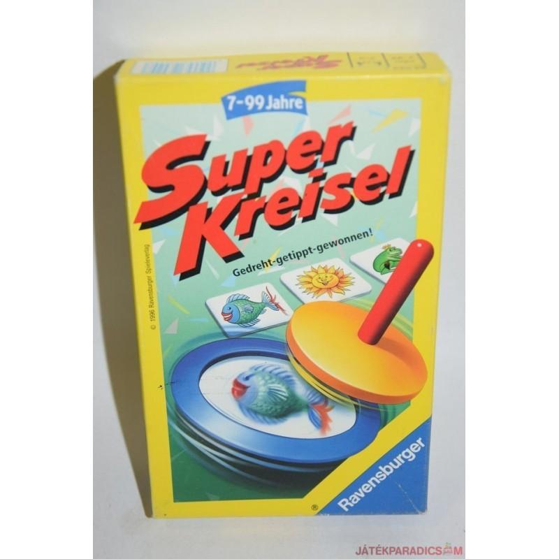 Super Kreisel Szuper pörgettyű társasjáték