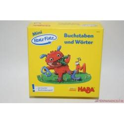 HABA Mini Ratz Fatz Buchstaben und Wörter Német szótanító társasjáték