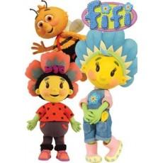 Fifi virágoskertje babák