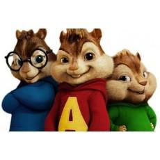 Alvin és a mókusok szereplők