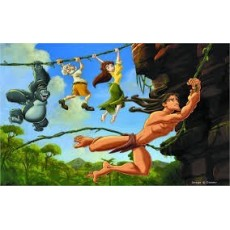 Tarzan szereplők