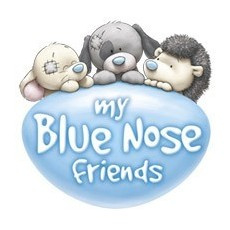 My Blue Nose Friends plüssök