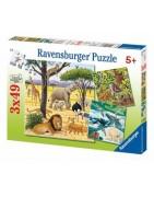 Puzzle kirakók 3x49db